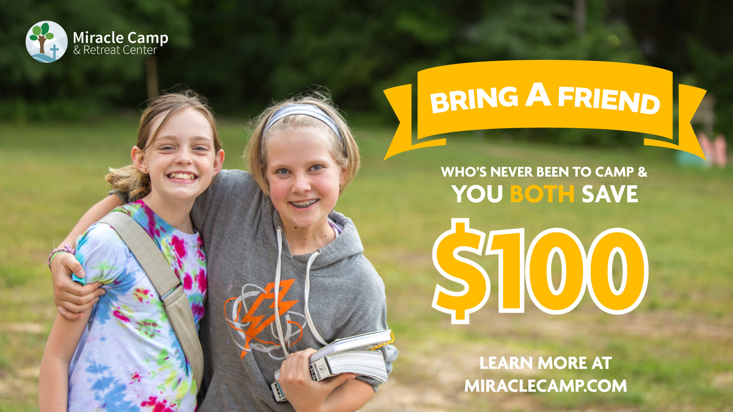 Bring a Friend and You BOTH Save $100!